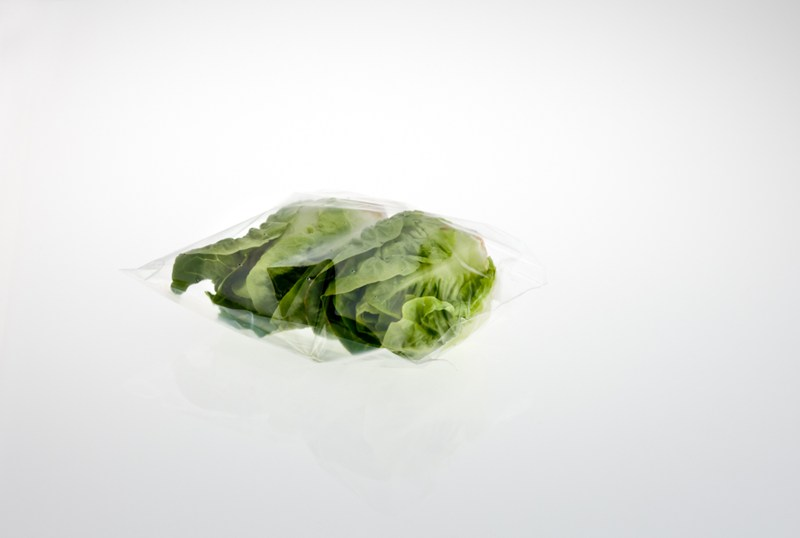 The Wicketted Little Gem bag has been specifically designed for the packaging of two little gem lettuces. The gem bag is designed to be torn away from a heat blocked header for ease of use.