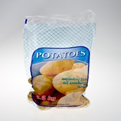 Wicketted 2.5kg Potato Bag