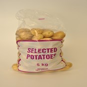 Wicketted 5kg Potato Bag