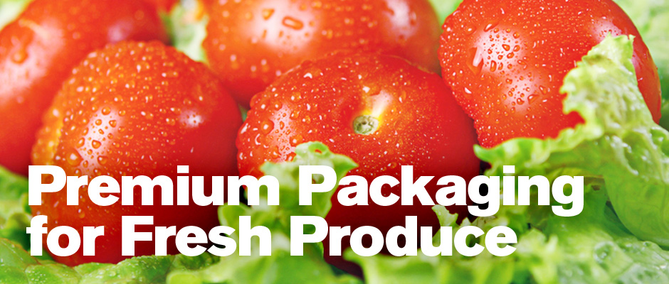 Premium Packaging for Fresh Tomatoes